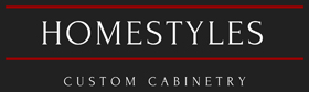 Homestyles Custom Cabinetry Logo